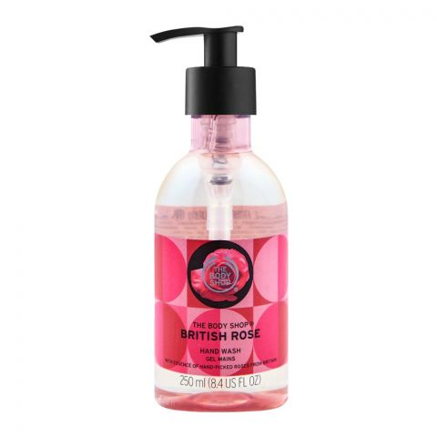 The Body Shop British Rose Hand Wash, 250ml