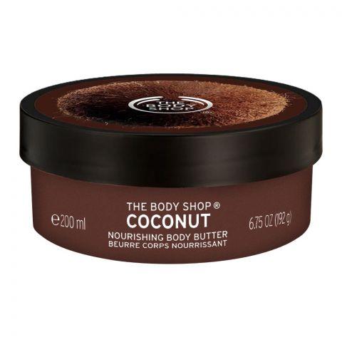The Body Shop Coconut Nourishing Body Butter, 200ml