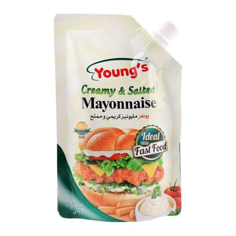 Young's Creamy & Salted Mayonnaise