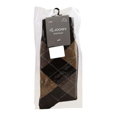 Jockey Men's Socks Formal, Multi, MC9AJ029
