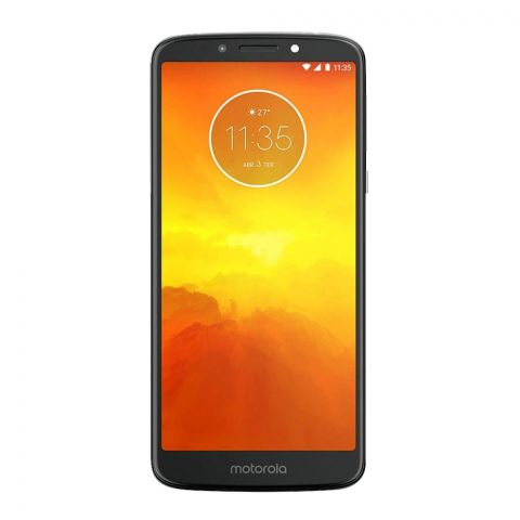 Motorola Moto E5, 2GB/16GB Flash Gray Smartphone, XT1944