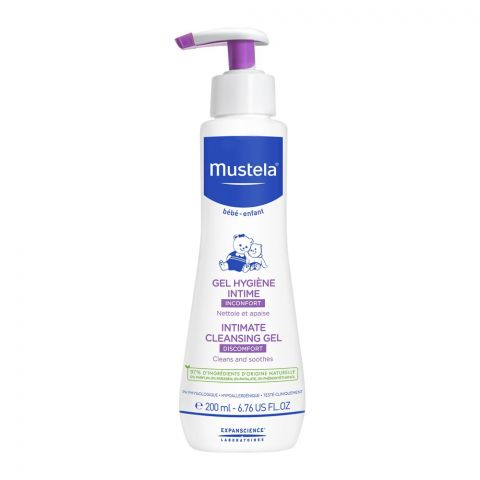 Mustela Baby Intimate Cleansing Gel, Discomfort, 200ml
