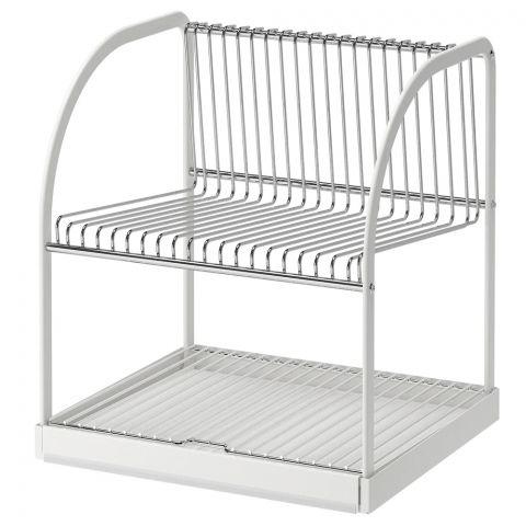IKEA Bestaene Dish Drainer, Silver, 90233967