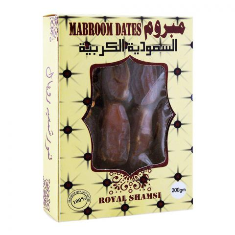 Royal Shamsi Mabroom Dates 200g