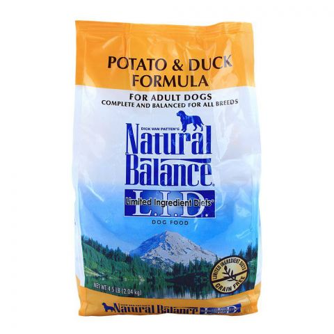Natural Balance Adult Potato & Duck Dog Food 2.04 KG