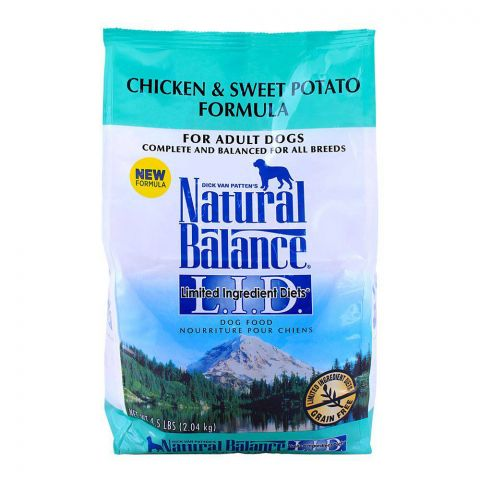 Natural Balance Adult Chicken & Sweet Potato Adult Dog Food 2.04 KG