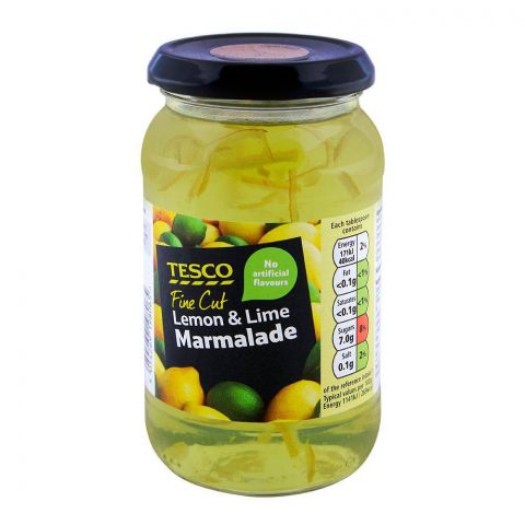 Tesco Fine Cut Lemon & Lime Marmalade 454g
