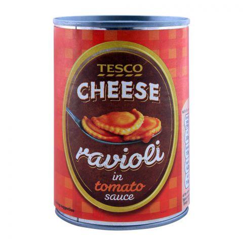 Tesco Cheese Ravioli In Tomato Sauce 400g