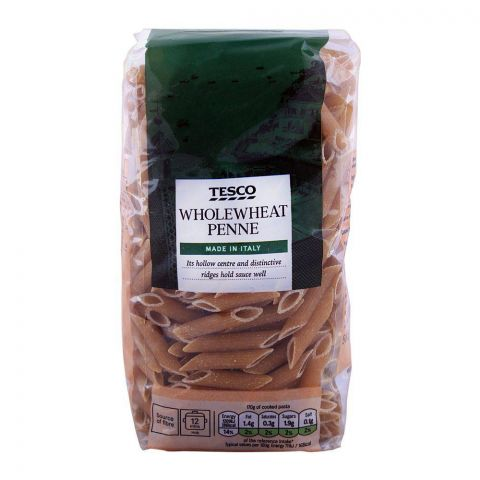 Tesco Whole Wheat Penne Pasta 500g