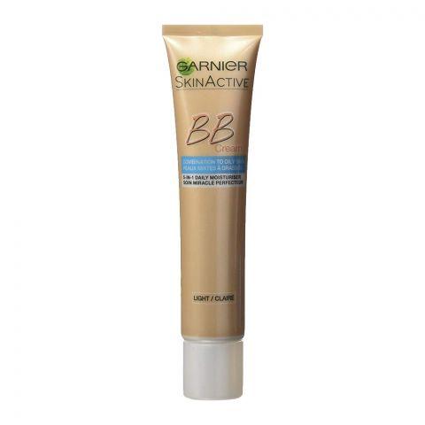 Garnier Skin Active BB Cream, Light, Combination to Oily Skin, 40ml
