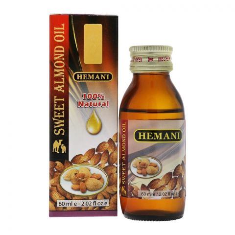 Hemani Sweet Almond Oil 60ml