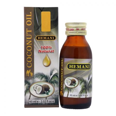 Hemani Coconut Oil 60ml