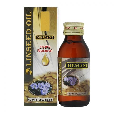 Hemani Linseed Oil 60 ml