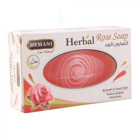Hemani Herbal Rose Soap, 100g