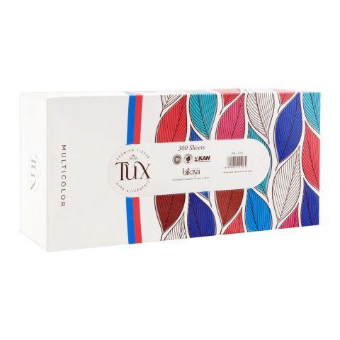 Tux Multi Color Premium Tissues, Box, 150x2ply