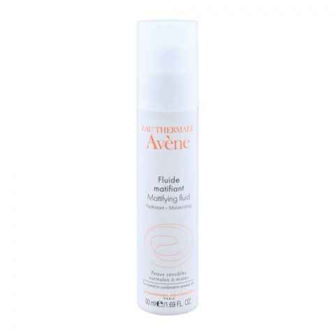 Avene Mattifying Fluid, Primer Lotion for Oily Skin, Shine Control, 50ml