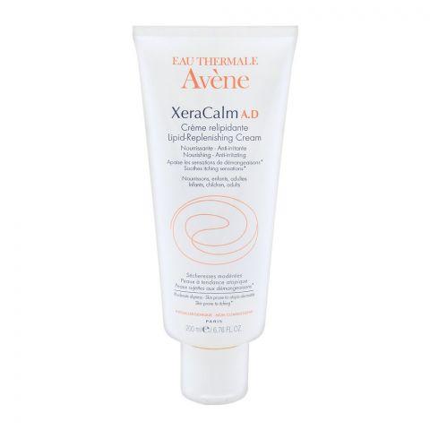 Avene XeraCalm A.D Lipid-Replenishing Cream, Atopic Dermatitis, Eczema-Prone, Fragrance Free, 200ml