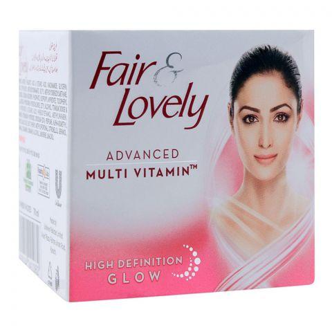 Fair & Lovely Advanced Multi Vitamin High Definition Glow Cream 70ml