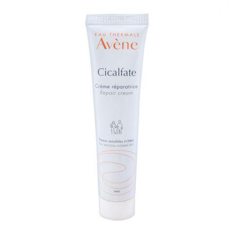 Avene Cicalfate Repair Cream, Sensitive Irritated Skin, 40ml