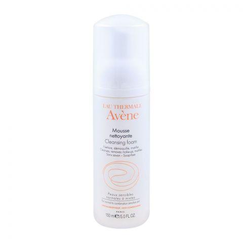 Avene Mousse Cleansing Foam, Normal to Sensitive Skin, 150ml
