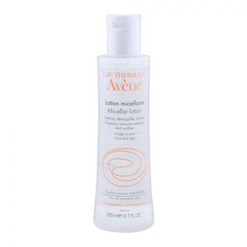 Avene Micellar Lotion Cleansing Toner, Make-up Remover for All Skin Types, 200ml