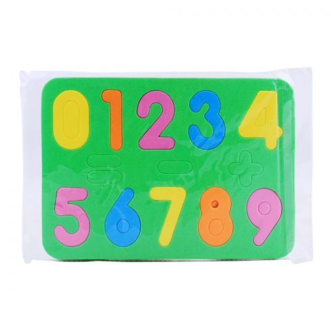 Live Long Foam Numbers, 2443-2