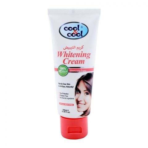 Cool & Cool Women Whitening Cream, For All Skins, 100ml