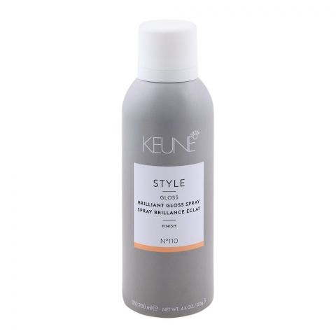 Keune Style Gloss Brilliant Gloss Spray, Finish, N-110, 200ml
