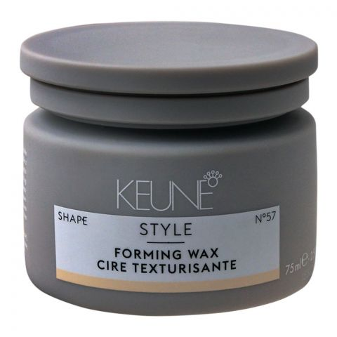 Keune Style Forming Hair Wax, Shape, N-57, 75ml