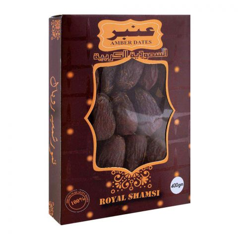 Royal Shamsi Amber Dates 400g