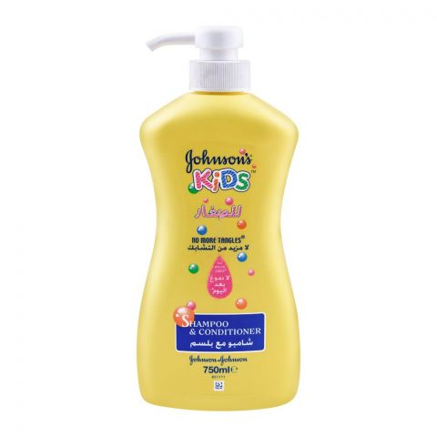 Johnson's Kids No More Tangles Shampoo & Conditioner, 750ml