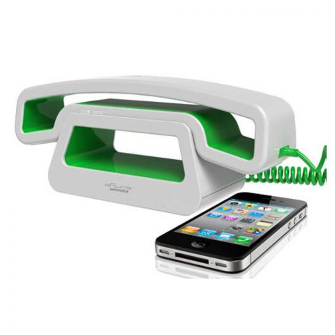 SwissVoice ePure Mobile Corded Handset, Green, CH01