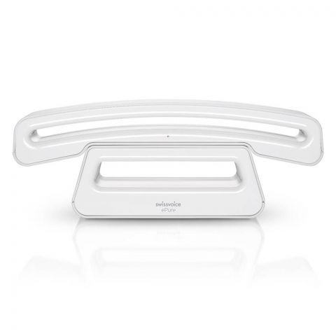 SwissVoice ePure Mobile Corded Handset, White, CH01