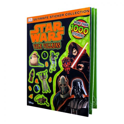 Star Wars Vile Villains Book
