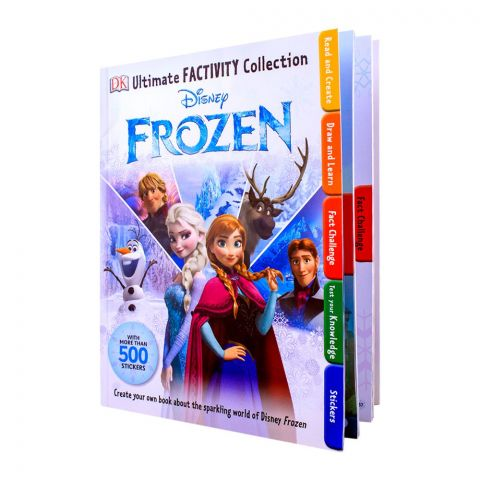 Disney Frozen Ultimate Factivity Collection Stickers Book