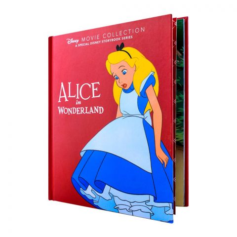 Disney Alice In Wonderland Movie Story Book