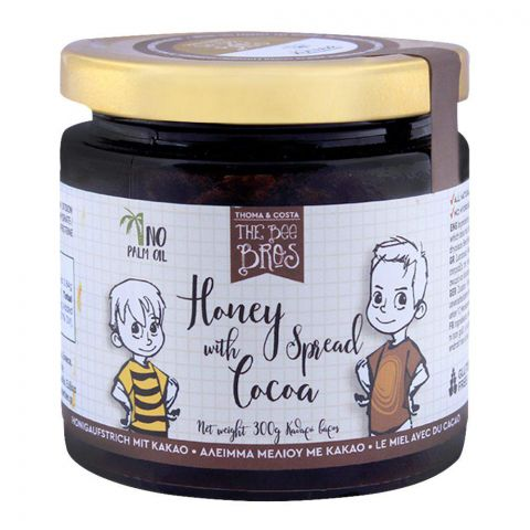 The Bee Bros Honey Spread With Cocoa 300g