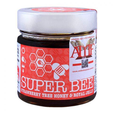 Super Bee Strawberry Tree Honey & Royal Jelly 260g