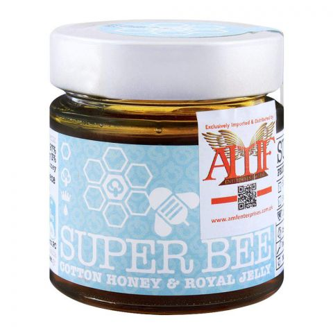 Super Bee Cotton Honey & Royal Jelly 260g