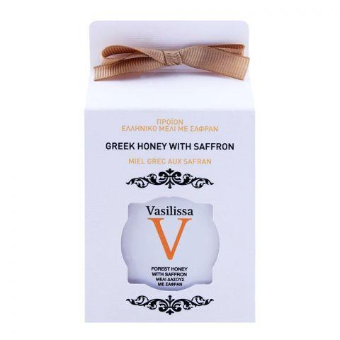 Vasilissa Greek Honey With Saffron 250g