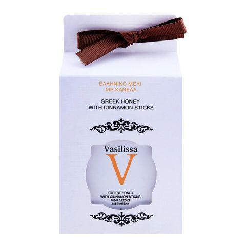 Vasilissa Greek Honey With Cinnamon Sticks 250g