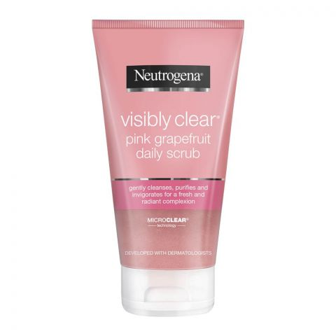 Neutrogena Visible Clear Pink Grapefruit Daily Scrub, 150ml
