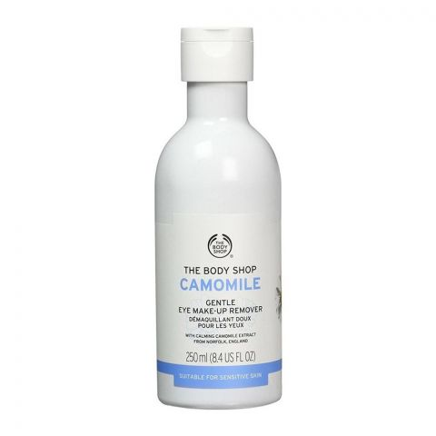 The Body Shop Camomile Gentle Eye Make-Up Remover, Suitable For Sensitive Skin, 250ml