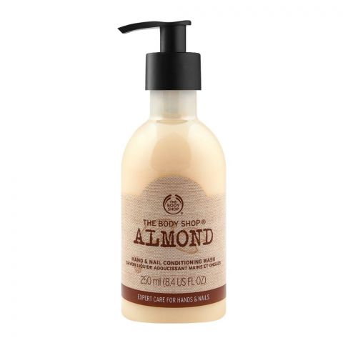 The Body Shop Almond Hand & Nail Conditioning Wash