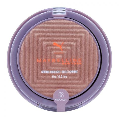 Maybelline Puma Chrome Highlighter, 08 Knockout