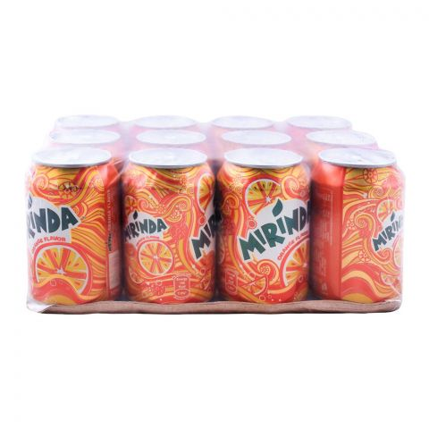 Mirinda Can (Local) 300ml, 12 Pieces