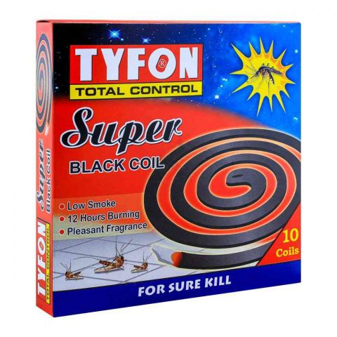 Tyfon Super Black Coil, 10 Coils