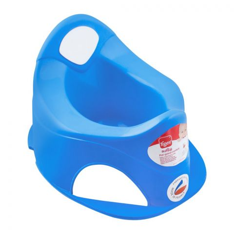 Tigex Pot Grand Comfort Potty Trainer, Blue, 80601582