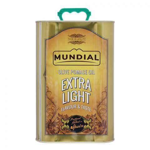 Mundial Olive Pomace Oil Extra Light Flavour & Taste, Tin, 3 Liters