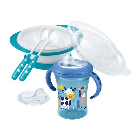 Nuk Baby Learn To Eat Set, 6m+, 10225130
